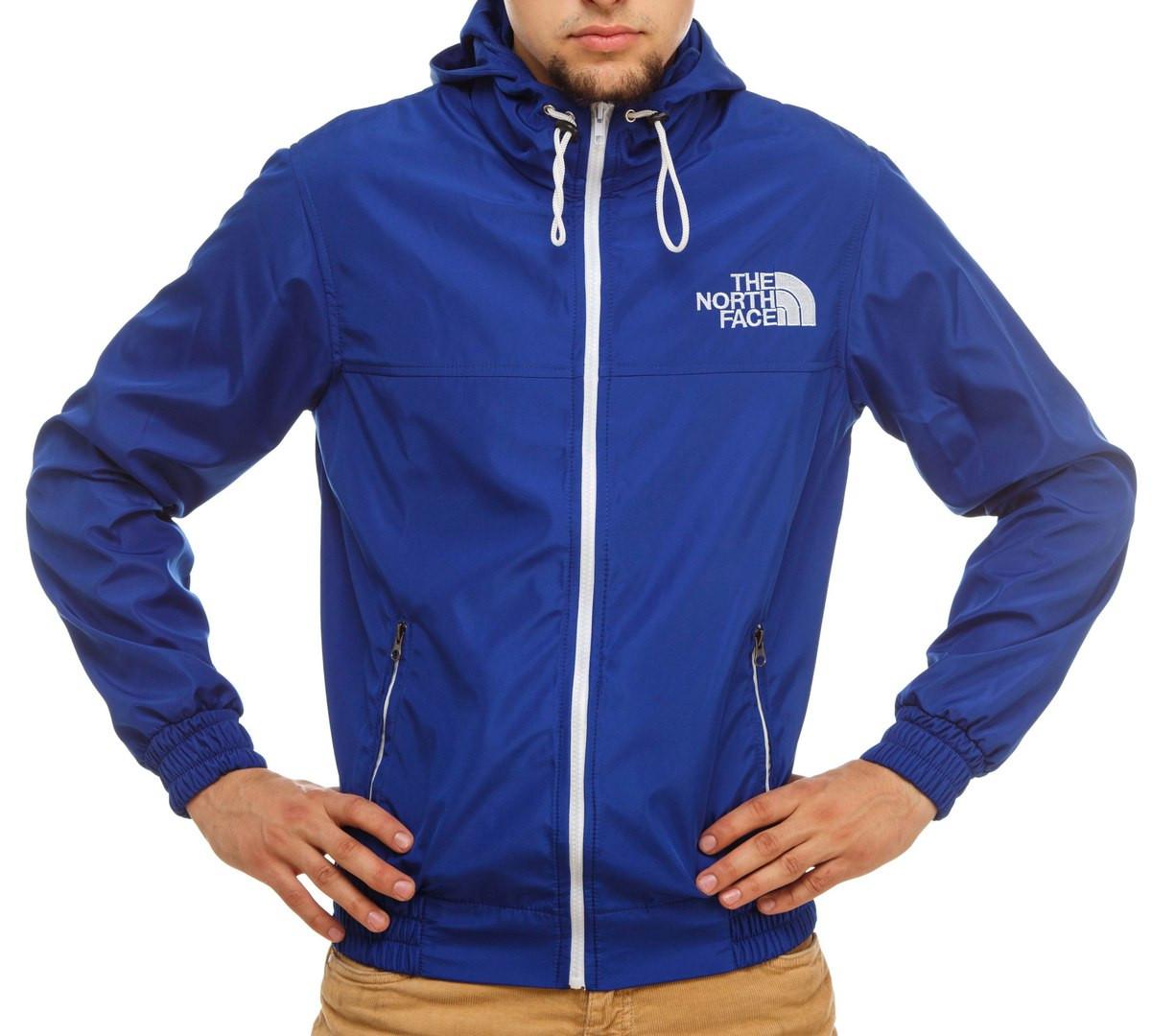 Ветровка, синяя магазин одежды
