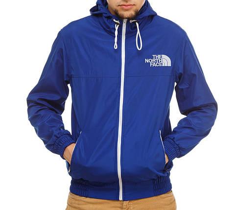 Ветровка, синяя магазин одежды, фото 2
