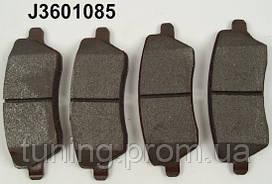 Колодки тормозные передние для Nissan Micra, NOTE, TIIDA.