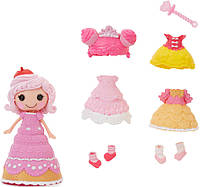 Кукла Mini Lalaloopsy Модное превращение Печенюшка-Сладкоежка с аксессуарами 543824