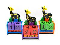 Настольный календарь Жираф