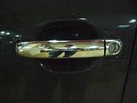 Накладки на ручки Ауди А6 Ц6, Audi A6 C6