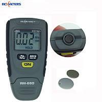 Мини толщиномер RM-660 лакокрасочных покрытий, автомобильный толщиномер RM-660