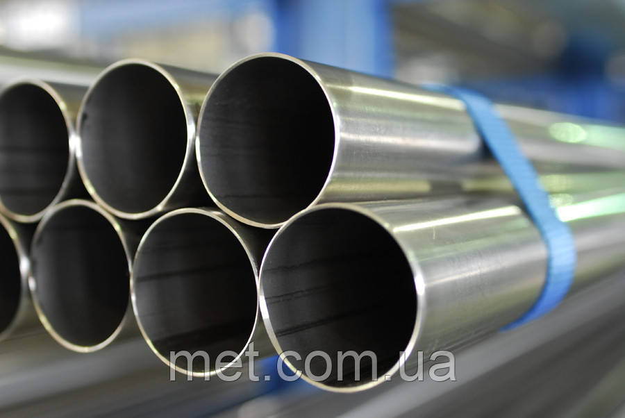 Труба нержавеющая  34х3,5 сталь 12Х18Н10Т