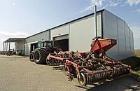 Ангар для хранения зерна и сельскохозяйственной техники