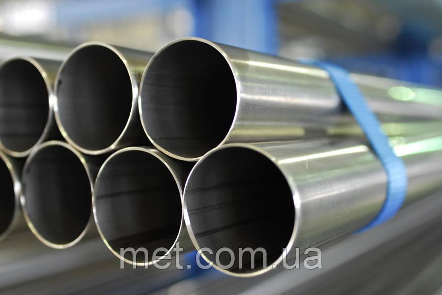 Труба нержавеющая40х1,5 сталь 12Х18Н10Т