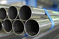 Труба нержавеющая40х4 сталь 12Х18Н10Т, фото 1