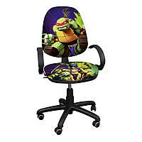 """Детское компьютерное кресло Поло """"Ниндзя черепашки-2"""""""