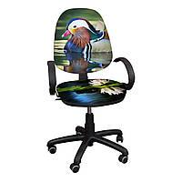 """Детское компьютерное кресло Поло """"Уточка в пруду"""""""