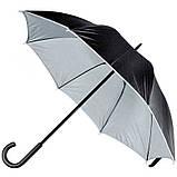 Зонт-трость, двухцветный, фото 4