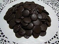 Темная шоколадная глазурь монетки