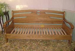 """Дубовый диван-кровать """"Луи Дюпон Люкс."""" 6"""