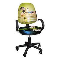 """Детское компьютерное кресло Поло """"Утка с утенком"""""""