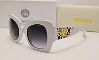 Женские солнцезащитные очки Versace 4308 белый цвет