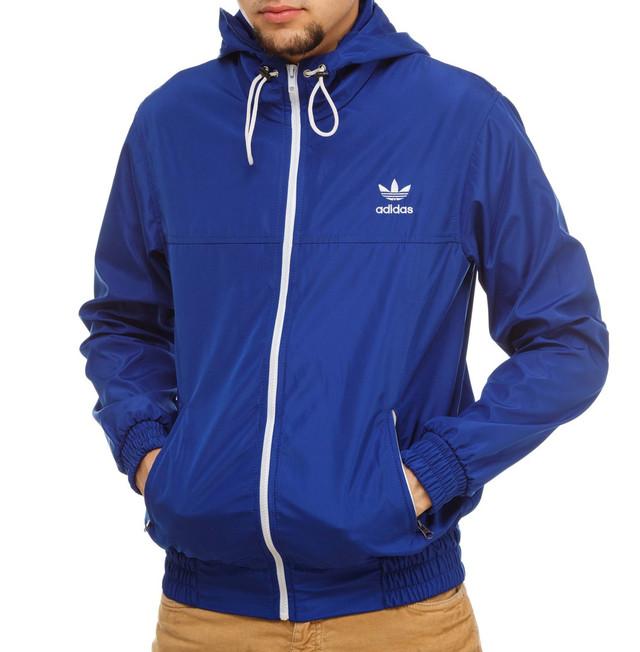 ветровка Adidas,синяя