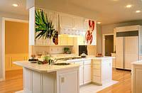 Фотопечать на кухонных фасадах, кухонные фартухи