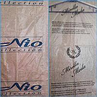 чехол для одежды с одноцветным логотипом 65*100*25