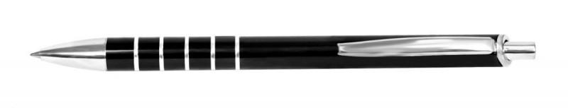 Ручка металлическая шариковая Steel, цвет ручки Чёрный