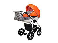 """Детская коляска 2в1 """"Viper Fashion"""" оранжевая"""