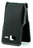 Чехол Status Side Flip Series ZTE Blade L3 Black Matte