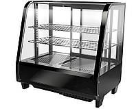 Витрина холодильная настольная, 100 литров, черная TVK100S