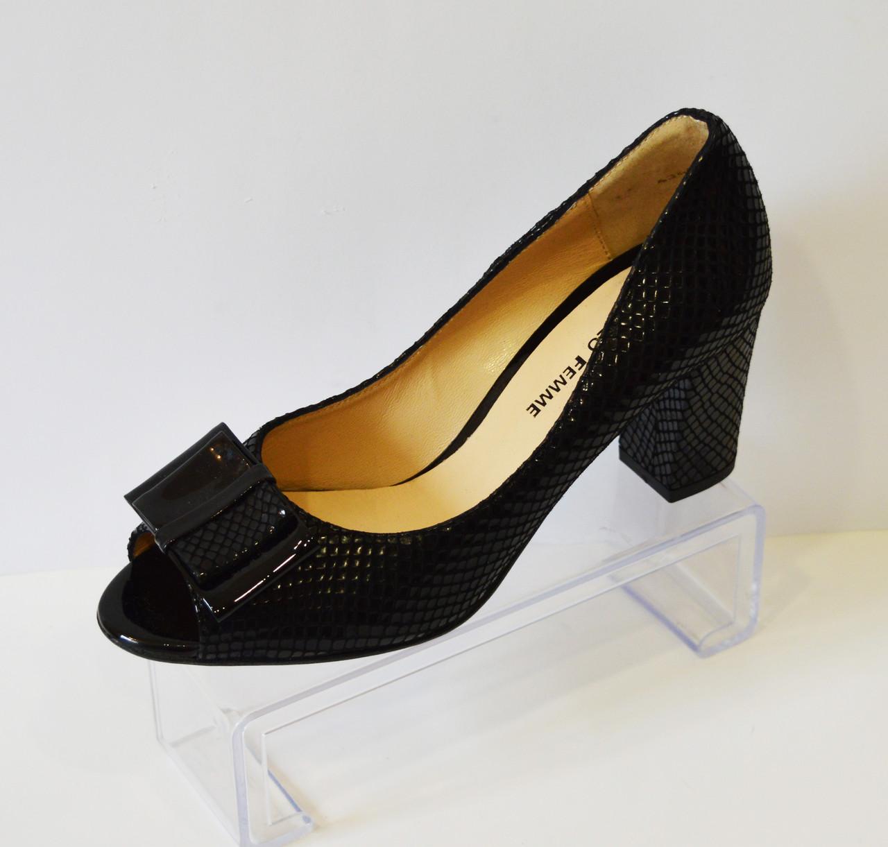 Лакированные женские туфли Solo Femme 43602