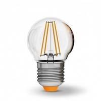 Светодиодная лампа VIDEX 4Вт G45F/филамент Е27