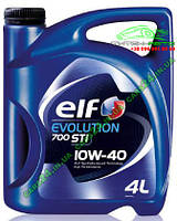 Масло моторное ELF EVOLUTION 700 STI 10W40 4L