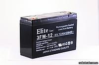 Аккумулятор AK  ELITE LUX  6 V 12 AH   .dr