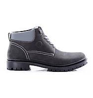 Мужские ботинки зимние натуральная кожа