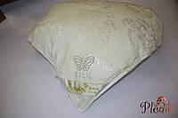 Шелковое одеяло 200х220 шелк-сатин 1.5кг