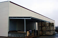 Строительство производственного здания, склада и реконструкция