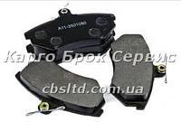 Колодки тормозные передние №2 A11-6BH3501080 Chery T11 (Лицензия)