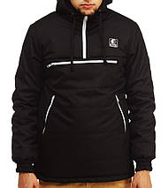 Зимний анорак Ястреб черный, мужская куртка, фото 3