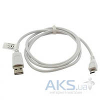 USB кабель Siyoteam Cable microUSB CA-101 Whire