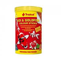 TROPICAL корм для прудовых рыб KOI  Gold COLOR ST. 21L/1.5kg