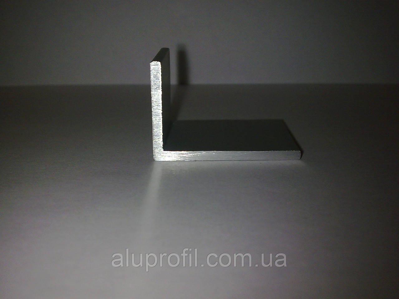 Алюминиевый профиль — уголок алюминиевый 30х20х1,2 AS