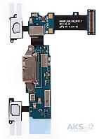 Шлейф для Samsung G9008V Galaxy S5 с разъемом зарядки, гарнитуры и микрофоном Original