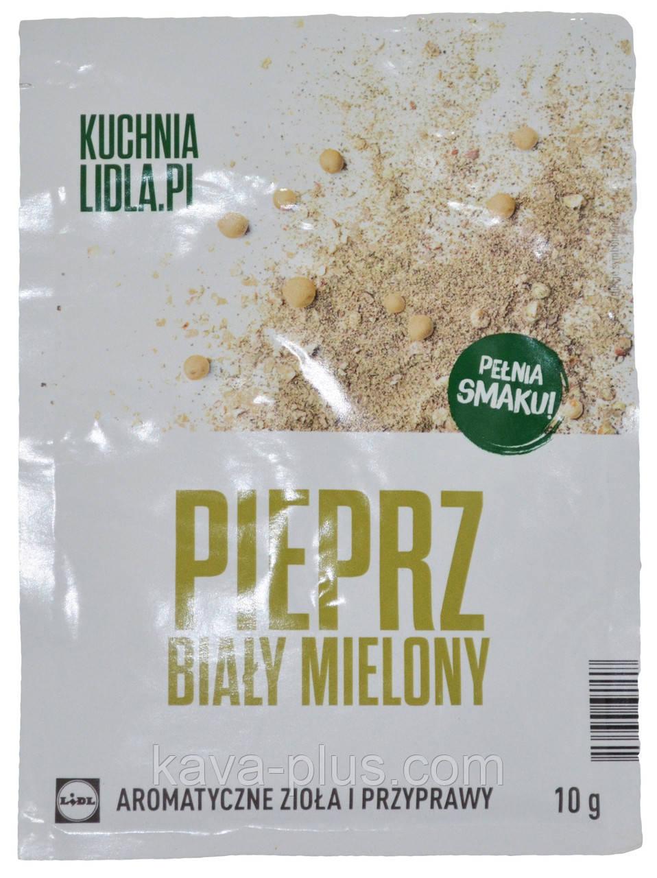 перец белый молотый Kuchnia Lidlapl Pieprz Bialy Mielony 10г продажа цена в львове пряности специи приправы от кава плюс торговая компания