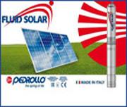 Система подачи воды Fluid Solar от Рedrollo с применеием «чистой» энергии солнечных панелей