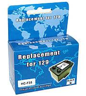 Картридж HP №129 (C9364HE), Black, DJ 5943/PSC 2573, MicroJet (HC-F35)