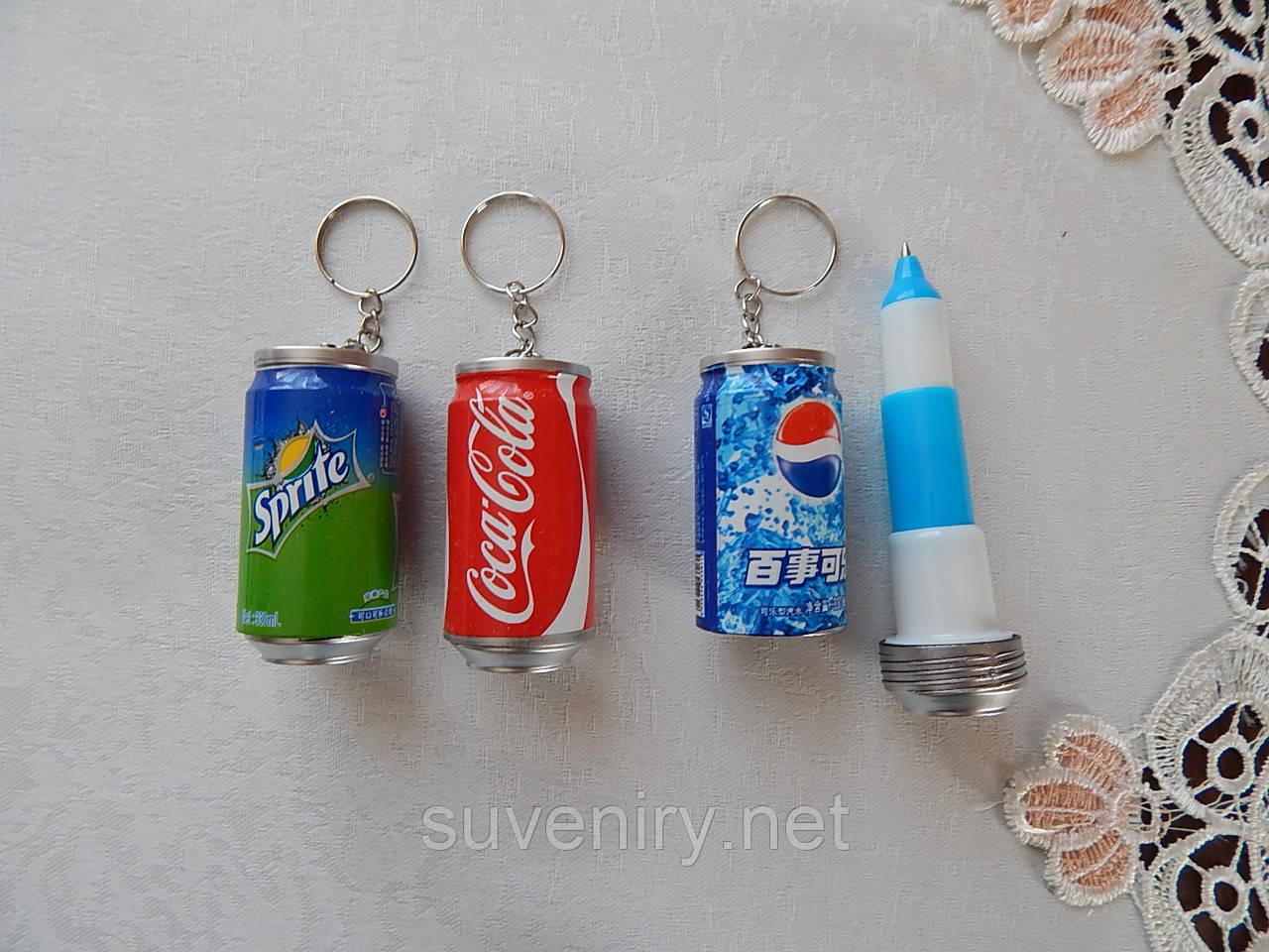 Брелок на ключи с ручкой