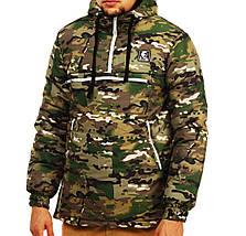 Зимняя теплая куртка анорак Ястребь мультикам, фото 3