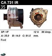 Генератор Ford Mondeo 90Amp.CA731IR