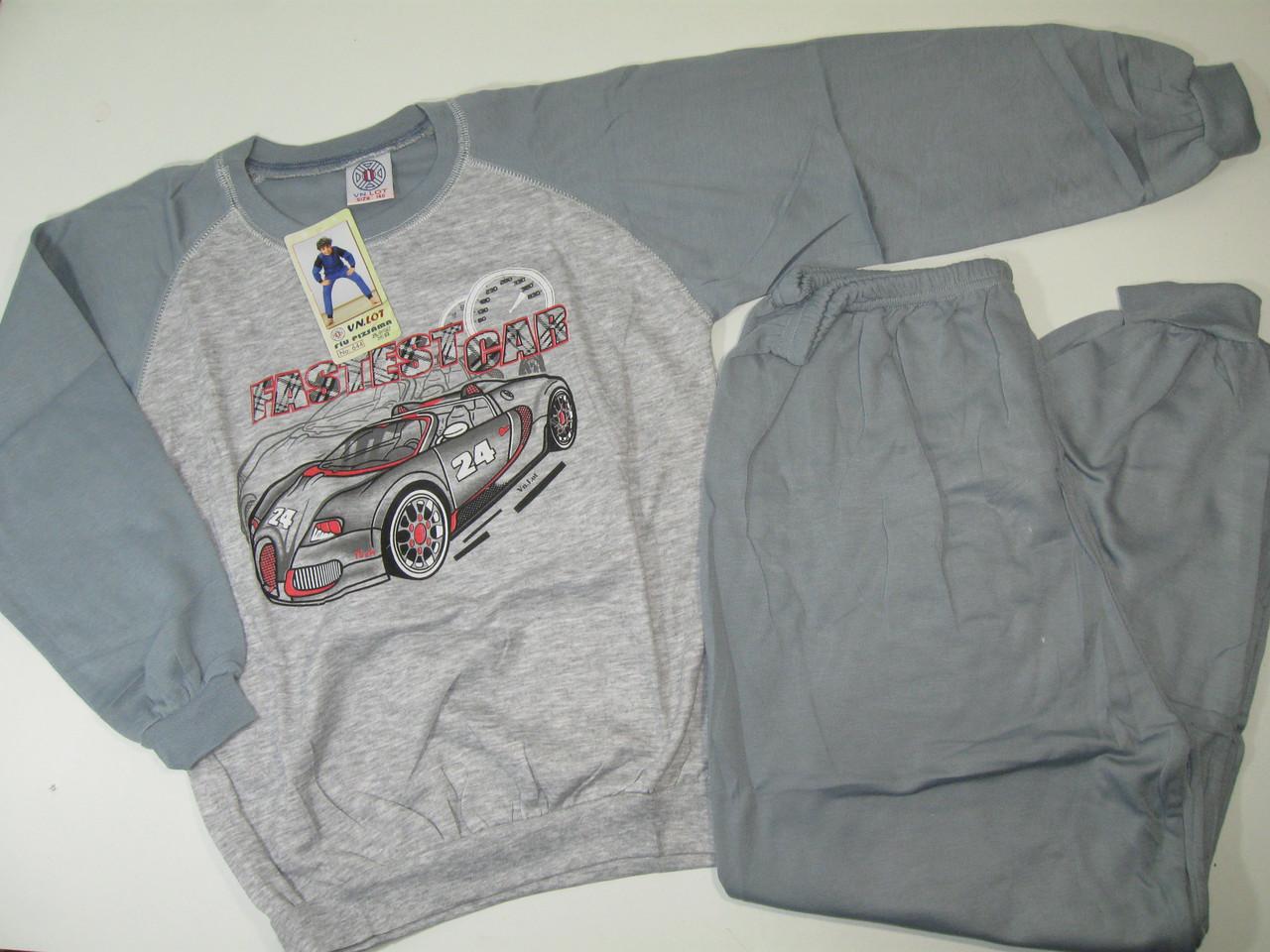 Пижама трикотажная с микроначёсом для мальчиков, размеры 134-164, арт. 644