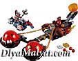 """Конструктор лего нексо LELE 79238 Nexo Knight (аналог Лего) """"Безумная колесница Укротителя"""", 326 дет, фото 2"""