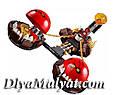 """Конструктор лего нексо LELE 79238 Nexo Knight (аналог Лего) """"Безумная колесница Укротителя"""", 326 дет, фото 3"""