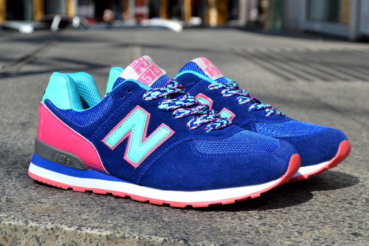 Кроссовки New Balance женские, разноцветные