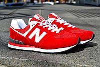Красные женские кроссовки New Balance, магазин обуви