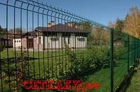 Панельный забор из сварной сетки 3d